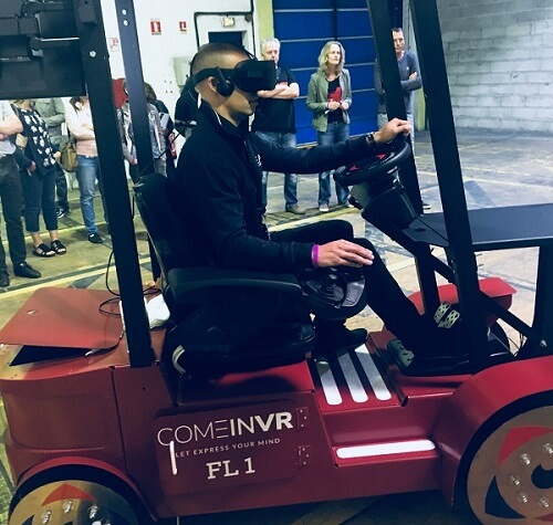 Formations approfondies - Moins d'accidents avec la réalité virtuelle